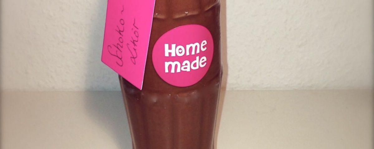 Schokoladenschnaps, Schokoladenlikör, Nutellaschaps, Nutellalikör, Thermomix, Vorwerk