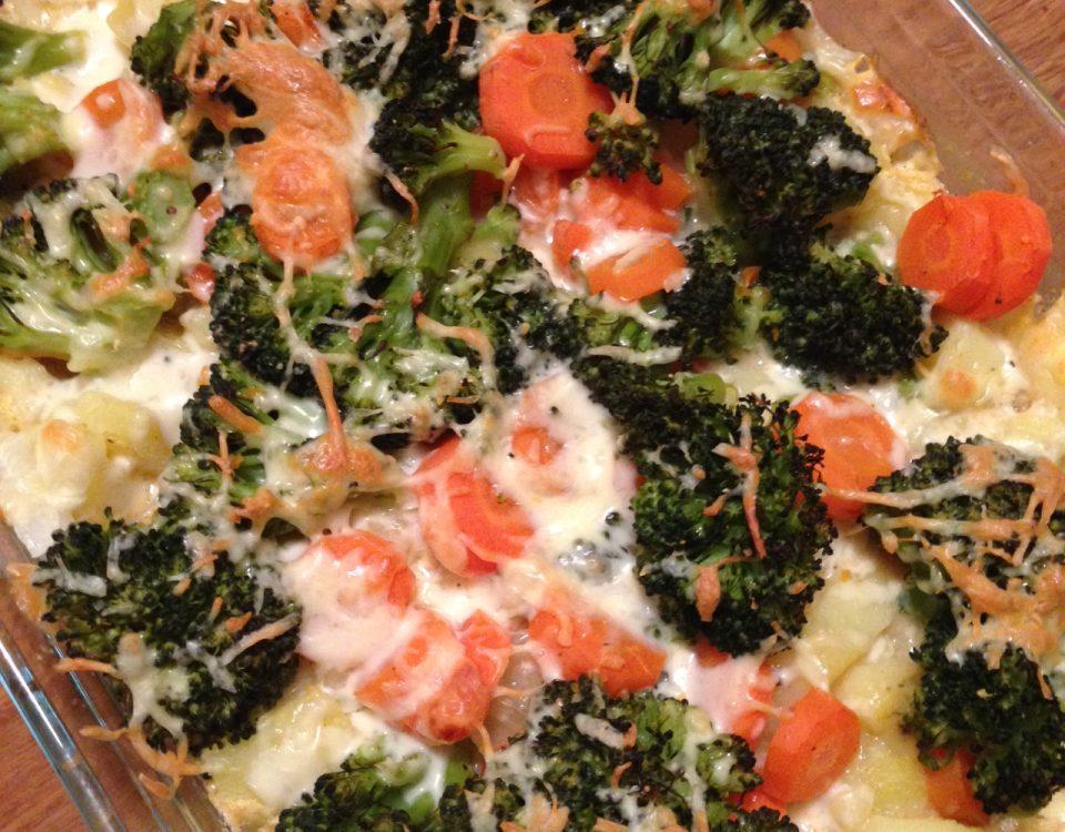 Brokkoli, Kartoffel, Gratin, Vorwerk, Thermomix, TM5, Gesund, Vegetarisch