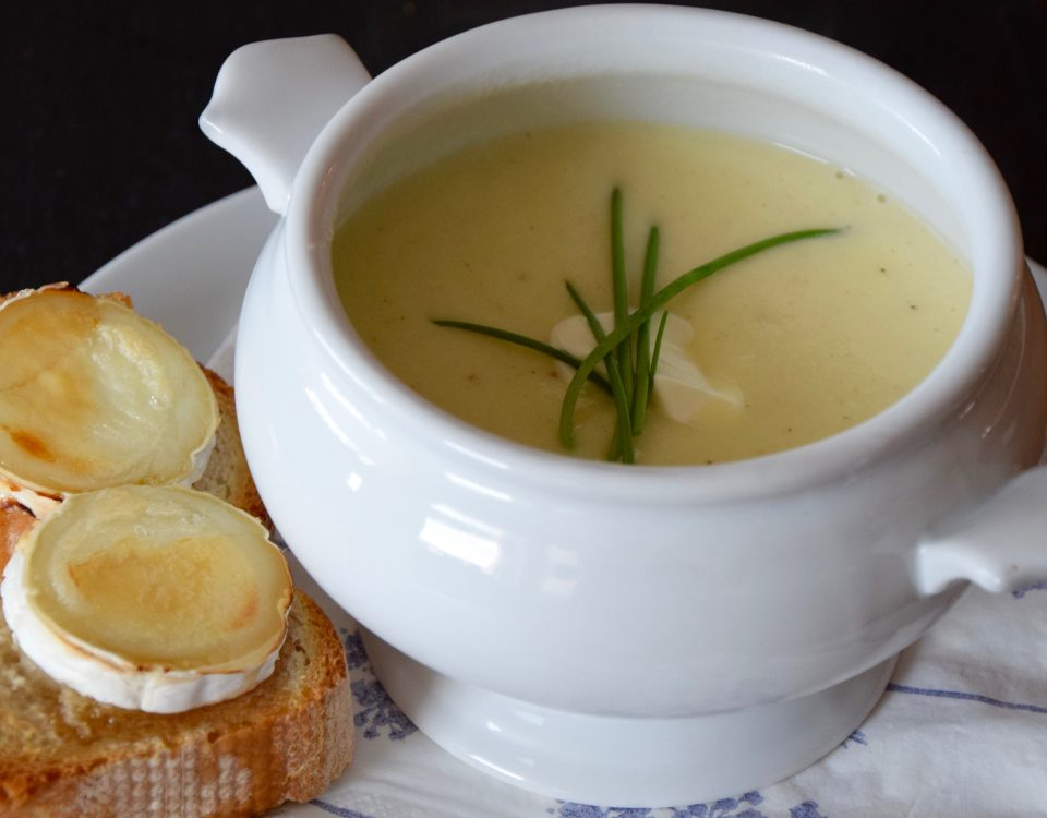 Kohlrabi-Kartoffel-Suppe aus dem Thermomix