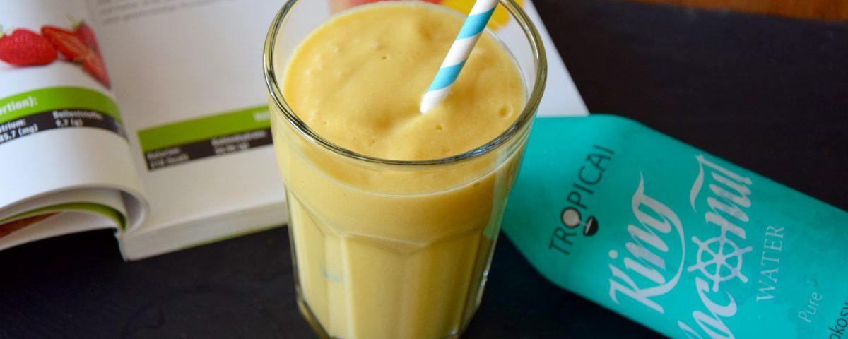 Veganer Mango Smoothie aus dem Thermomix von Vorwerk