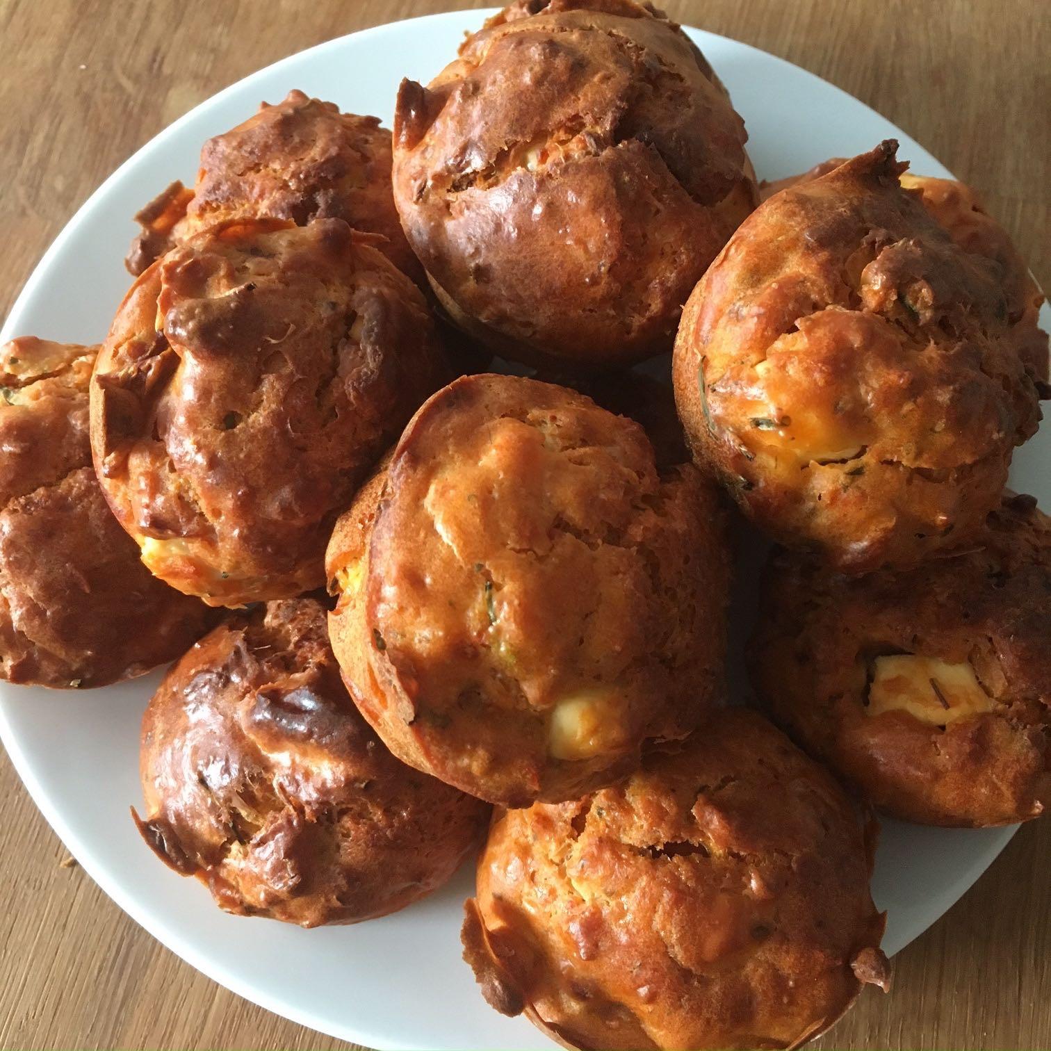 Herzhafte Muffins mit getrockneten Tomaten aus dem Thermomix von Vorwerk