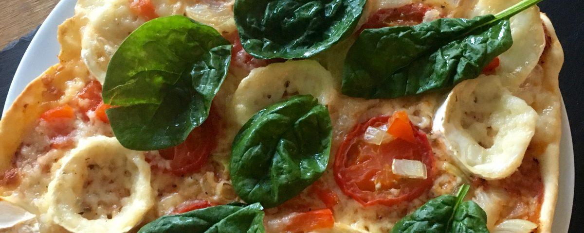 Pizza aus dem Mulex-Grill