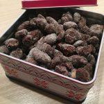 Schokoladen Mandeln zu Weihnachten aus dem Thermomix