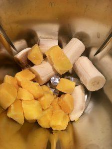 Smoothie Bowle mit Banane und Ananas aus dem Thermomix® von Vorwerk