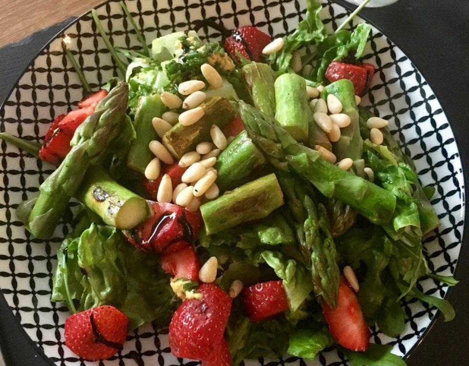 gruener Sparge-Salat