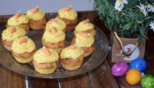 Karotten Cupcakes aus dem Thermomix®