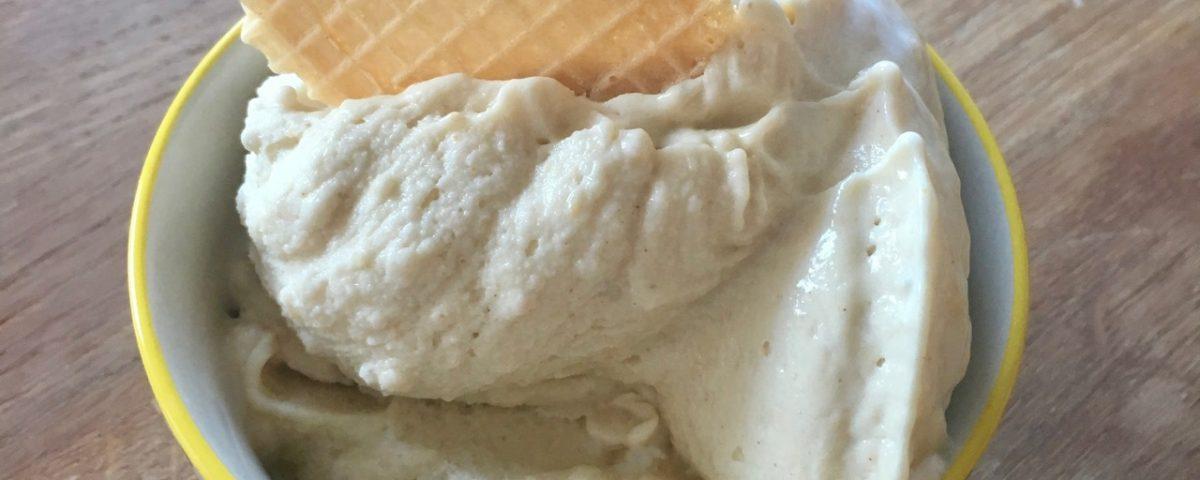 Erdnuss-Eis aus dem Thermomix