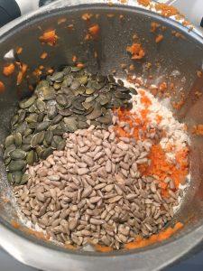 Zutaten Karotten-Brot