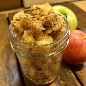 Apple Crumble aus dem Thermomix