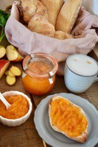 Apfel-Karotten-Fruchtaufstrich mit Ingwer